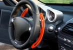 optigear Schaltwippe lightning orange outline