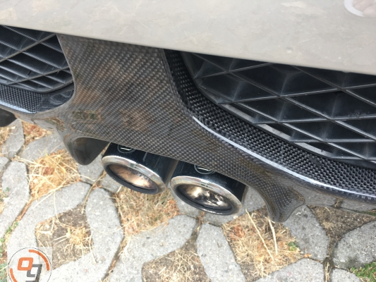optigear Heckdiffusor Vollcarbon smart roadster